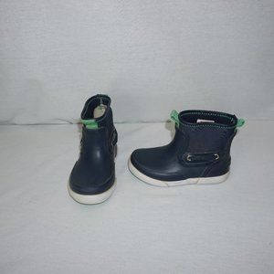 SPERRY Seawall Boots Blue Green Toddler 8